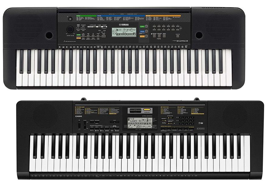 Digital Piano Casio Vs Yamaha : yamaha psr e253 vs casio ctk2400 ~ Russianpoet.info Haus und Dekorationen