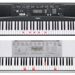Yamaha EZ 220 vs Casio LK 280