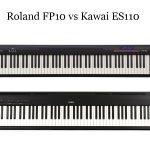 Roland FP10 vs Kawai ES110