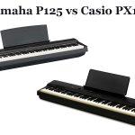 Yamaha P125 vs Casio PX160