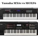 Yamaha MX61 vs MOXF6