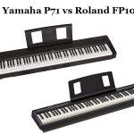 Yamaha P71 vs Roland FP10