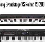 Korg Grandstage vs Roland RD 2000