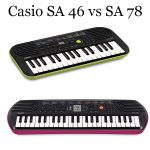 Casio SA 46 vs SA 78