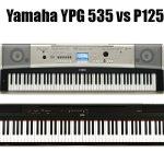 Yamaha YPG 535 vs P125