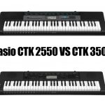 Casio CTK 2550 vs CTK 3500