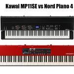 Kawai MP11SE vs Nord Piano 4