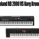 Roland RD 2000 Vs Korg Kronos