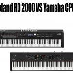Roland RD 2000 vs Yamaha CP88