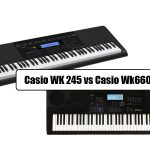 Casio WK 245 vs Casio Wk6600