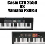 Casio CTK 2550 vs Yamaha PSRF51