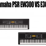 Yamaha PSR EW300 vs E363