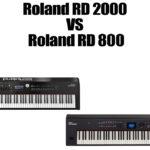 Roland RD 2000 VS Roland RD 800